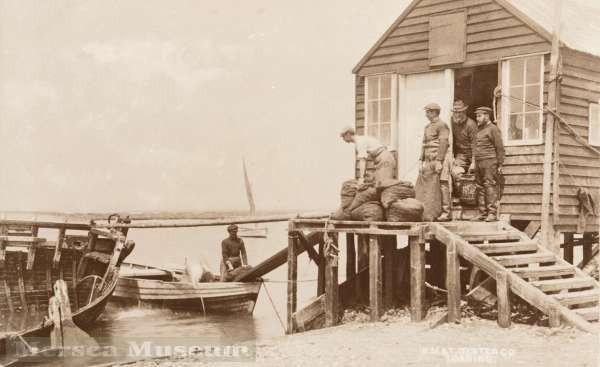 19th Century oyster fishermen